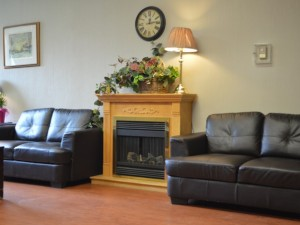 Fergus Retirement Home lobby