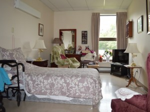 Fergus Retirement Home room
